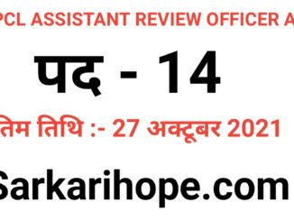Uttar Pradesh UPPCL Assistant Review Officer ARO Online Form 2021